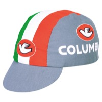 Pace Columbus Italia Cycling Cap - Grey
