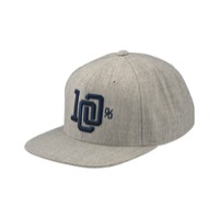 100% College Hat - Grey