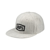 100% Essential Hat - Grey