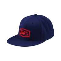 100% Essential Hat - Blue