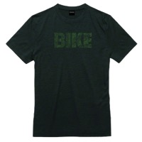 Mechanical Threads Bike Topography Merino T-Shirt - Green