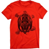 Twin Six Women's Turtle Save T-Shirt - Poppy