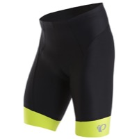 Pearl Izumi Elite In-R-Cool Shorts - Black/Lime Punch