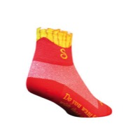 SockGuy Fries Socks - Red