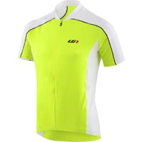 Louis Garneau Mistral Vent Short Sleeve Jersey - Bright Yellow