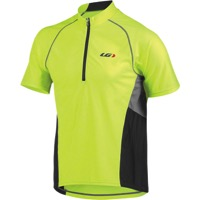 Louis Garneau Grand Tour Short Sleeve Jersey - Bright Yellow