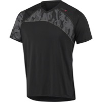 Louis Garneau Andes MTB Short Sleeve Jersey - Black/Gray