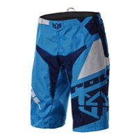 Royal Racing Victory Race Shorts - Cyan/Navy/White