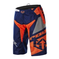 Royal Racing Victory Race Shorts - Navy/Grey/Flo Orange