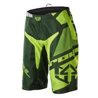 Royal Racing Victory Race Shorts - Dark Green/Light Green/Yellow