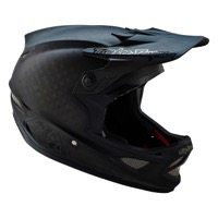 Troy Lee D3 Carbon Helmet 2016 - Midnight Black