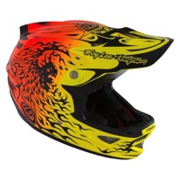 Troy Lee D3 Composite MIPS Helmet 2016 - Ravage Orange