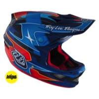 Troy Lee D3 Carbon MIPS Helmet 2016 - Render Navy