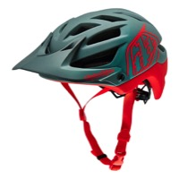 Troy Lee A1 Drone Helmet 2016 - Gray/Red