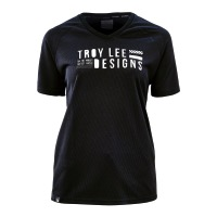 Troy Lee Womens Skyline Jersey - Black