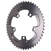AbsoluteBlack Winter 2x Oval Chainrings - 5 x 110mm BCD