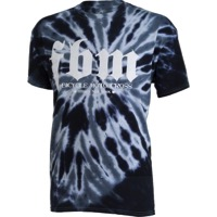 FBM Bicycle Motocross T-Shirt - Black Tie Dye