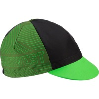 All-City Midwest Cycling Cap - Black
