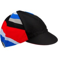 All-City Zig Zag Cycling Cap - Blue/Black/Red