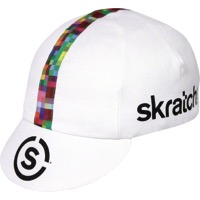 Pace Skratch Labs Cycling Cap - White