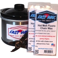 Fast Wax Hot Melt Fluoro Chain Wax Kit