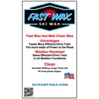 Fast Wax Hot Melt Fluoro Chain Wax