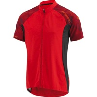 Louis Garneau Maple Lane Jersey - Flame Red/Sunset Orange