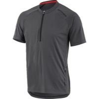 Louis Garneau West Branch MTB Jersey - Asphalt Gray