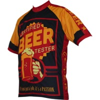 World Jerseys Beer Tester Men's Jersey - Black/Gold