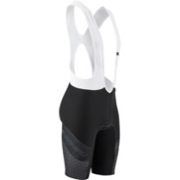 Louis Garneau CB Carbon Lazer Men's Bib - Black/White