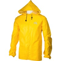 O2 Element Series Rain Jacket with hood - Yellow
