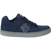 Five Ten Freerider Canvas Flat Pedal Men's Shoe - Mineral Blue