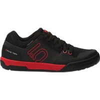Five Ten Freerider Contact Flat Pedal Men's Shoe - Black/Red