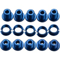 BOX Components Spiral Alloy Chainring Bolts