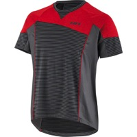 Louis Garneau HTO Men's MTB T-Shirt - Black/Ginger Red