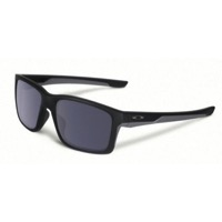 Oakley Mainlink Sunglasses - Matte Black/Gray