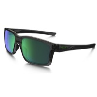 Oakley Mainlink Sunglasses - Gray Smoke/Jade Iridium