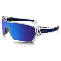 Oakley Turbine Rotor Sunglasses - Polished Clear/Sapphire iridium
