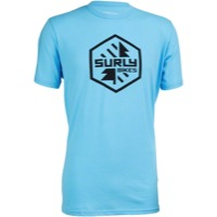 Surly Split Season Men's T-Shirt - Blue
