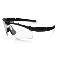 Oakley Industrial M Frame 2.0 Safety Sunglasses - Matte Black/Clear