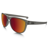 Oakley Sliver Round Polarized Sunglasses - Gray Ink/Torch Iridium Polarized
