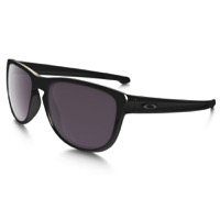Oakley Sliver Round Prizm Polarized Sunglasses - Polished Black/Prizm Daily Polarized Lens