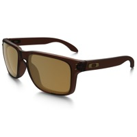 Oakley Holbrook Polarized Sunglasses - Matte Root Beer/Bronze Polarized
