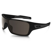 Oakley Turbine Rotor Sunglasses - Polished Black/Warm Gray Lens