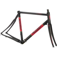 Ritchey BreakAway Carbon Road Frameset - Carbon Black/Red