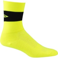 "DeFeet Aireator 5"" Team Socks - Yellow/Black Stripe"