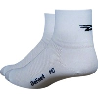 "DeFeet Aireator 3"" D-Logo Socks - White"