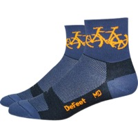 "DeFeet Aireator 3"" Townee Socks - Graphite"