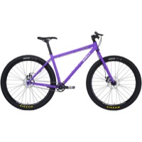 Surly Karate Monkey Single Speed Complete Bike - Stand Back Purple