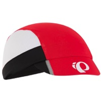 Pearl Izumi Transfer Cycling Cap - True Red/White